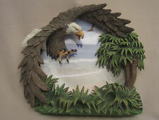 Bald Eagle collector plate Summer'S Splendor Steve Hardock Four Seasons Of Eagle
