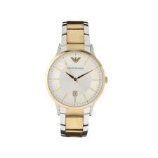 Emporio Armani AR2450 Damen Edelstahl Gold/Silber Datumsanzeige Uhr