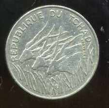 TCHAD  100 francs  1978