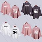 Kpop Monsta X Wide Sleeve Sweater Merchandise Women Jooheon Hoodie I.M Pullover