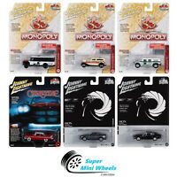 Johnny Lightning 1:64 POP CULTURE 2020 RELEASE 1 - SET OF CARS