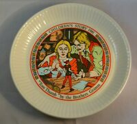 Wedgwood Tom Thumb Brothers Grimm Childrens Story 1981 Collectable Plate 15.5cm