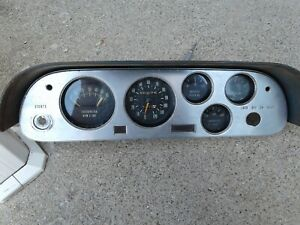 1962 63 64 Corvair Spyder Dash Speedometer Gauge Cluster Tach Chevrolet  Monza