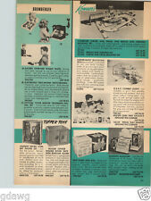 1966 PAPER AD Topper Toy Johnny Seven Combat Phone Set Kenner's Girder and Panel