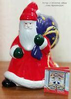 Mary Engelbreit 2000 Believe Santa Vase 8H x 6W -993506- Enesco- W/Box *Notes