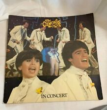 1978 The Osmonds in Concert Program Donny & Marie Vintage Music Show