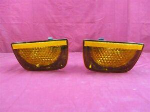 NOS OEM Chevrolet Camaro Amber Tail Lamp 2011 - 12 PAIR Export