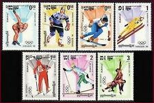 CAMBODGE Kampuchea N°449/455** JO 1984, CAMBODIA Sc#462-468 Olympic games MNH