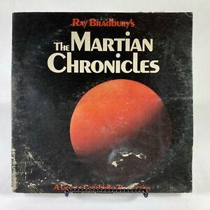 Ray Bradbury's THE MARTIAN CHRONICLES Vinyl 1976 LP Record