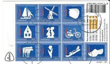 Nederland - Nederlandse Iconen - 2014 gestempeld