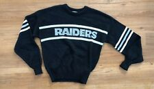 VINTAGE Oakland RAIDERS Sweater Cliff Engle Los Angeles NFL MADE IN USA M