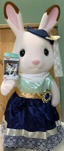 RARE Sylvanian Families GIANT 81cm Town Girl STELLA Chocolate Rabbit