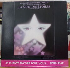 "EDITH PIAF ""DE L'ACCORDEONISTE A MILORD"" LA NUIT DES ETOILES FRENCH LP COLUMBIA"