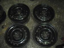 Jantes en Acier Opel 6-15 5/110 e49 4 pièces comme neuf!