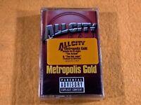 A6-79 ALL CITY Metropolis Gold .. SEALED .. PARENTAL ADVISORY .. 1998