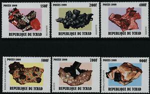 Chad 839-45 MNH Minerals
