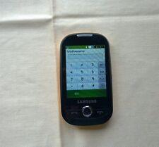Samsung  Corby GT-S3650 - Chrom Gelb (Ohne Simlock) Smartphone