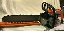 Vintage Stihl 026 Gas Powered Chainsaw LIGHTLY USED EXCELLENT CONDITION