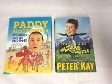 x2 Books Comedian - Peter Kay Autobiography - Paddy McGuinness Guide To North