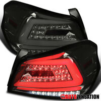 For 2015-2019 Subaru WRX STI Smoke Tail Lights Lamps+ Sequential LED Signal Bar