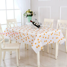 Waterproof Oil Proof Table Cloth Cover For Home Dining Kitchen Tablecloth Decor