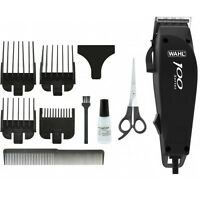 Electric Hair Cutter Beard Clipper Men Trimmer Barber Haircut Combs Kit Set UK