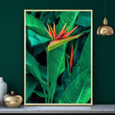 Bird of Paradise Botanical Tropical Painting Wall Art Print Poster A4 A3 A2 A1