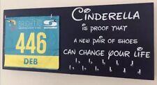 Cinderella Bib & Medal Runner / Sports Medal & Bib hanger / holder /display