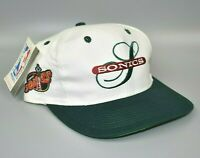 Seattle Sonics Twins Enterprise NBA Vintage 90's Men's Snapback Cap Hat - NWT
