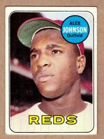 1969 Topps #280 Alex Johnson Cincinnati Reds NM Near Mint condition