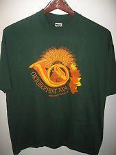 Redstone Arsenal Alabama USA Army Post Oktoberfest 2004 Festival T Shirt XXLrg