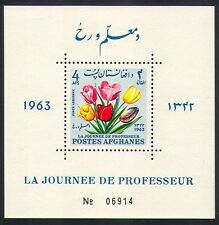Afghanistan 1964 Tulips/Flowers/Plants/Nature/Teachers Day 1v m/s (n33195)