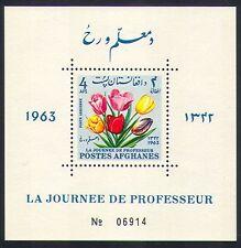 Afghanistan 1964 Tulips/Flowers/Plants/Nature/Teachers Day 1v m/s (n33195)