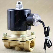 "12V DC 1/2"" Electric Solenoid Valve Water Gas Diesel"