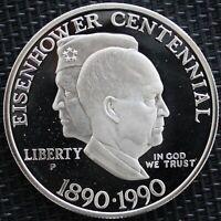 USA ONE DOLLAR EISENHOWER 1990 ARGENT
