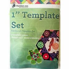 Matildas Own One Inch Patchwork Template Set