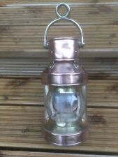 Antique Ships Lamp - Copper & Brass