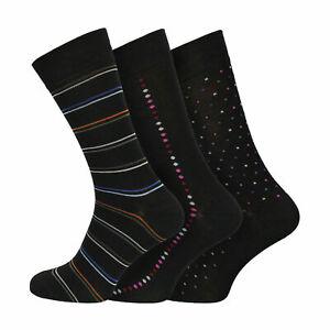 Mens Bamboo Super Soft Natural Anti Bacterial Odour Resistant Socks UK 6-11