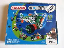 MECCANO - Multi Models 10 - Complet + Boite + Notice