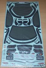 Tamiya mazda RX-7 58382 FD3S/TT01/TT01D, 9495504/19495504 décalques/autocollants, nip