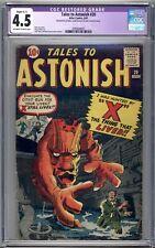 Tales To Astonish #20 - CGC Graded 4.5 (VG+) 1961 - Silver Age - Pre-Superhero