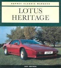 LOTUS HERITAGE BRITISH SPORTS CARS HISTORY 1957-1994 ELITE ELAN EUROPA ESPIRIT