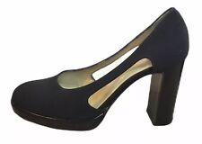 Russell & Bromley Negro Corte Plataforma Tacones 39 6 Zapato