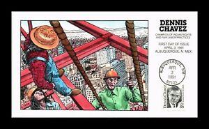 DR JIM STAMPS US COLLINS HAND COLORED DENNIS CHAVEZ 1991 FDC SCOTT 2186