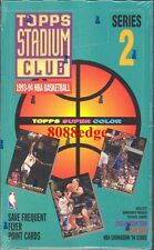 1993-94 TOPPS STADIUM CLUB SERIES 2 NBA BOX- WEBBER/HARDAWAY ROOKIE RC BEAM TEAM