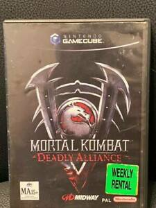 MORTAL KOMBAT DEADLY ALLIANCE VIDEO STORE COPY GAMECUBE 62903