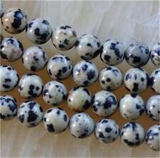 Natural 8mm spot jasper gemstone loose beads 15''