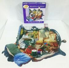 Sewing Kittens A Stitch In Time Shaped Puzzle 750 Pieces Russell Cobane