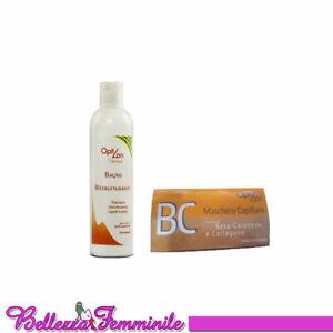 Shampoo ristrutturante 300ml Beta Carotene e Collagene + Fiale 10x8ml Farmavit