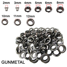 2mm-12mm Eyelets with Washers Grommets DIY Leather Craft Clothing Bags Repair